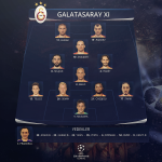 RT @GalatasaraySK: İLK XI: Muslera, Tarık, Chedjou, Semih, Telles, Melo, Hamit, Selçuk, Sneijder, Pandev, Burak @ChampionsLeague http://t.co/QwzriIdTXU