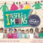 Los niños de @FundacionImat serán los modelos del 1er Desfile de Moda Infantil. Te esperamos! Oct 25 4pm @alamedascc http://t.co/gOVIlu0RiS