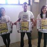 Hoy nace la Red por la libertad de los jovenes y estudiantes presos a nivel nacional #Guayana #LiberenALosEstudiantes http://t.co/w9tSzuxX6i