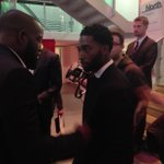 And heres @TinieTempah arriving #MOBO2014 http://t.co/09k5mxlFxg