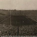 #TBT RT @umichBentley: #ThisDayinHistory 87 yrs ago (yesterday) #TheBigHouse was formally opened @umichfootball http://t.co/pRdj2wlNDw