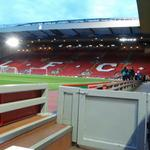 RT @LFC: The view of the Kop from Brendan Rodgers seat in the dugout this evening #LFC http://t.co/dS4j94hCq4