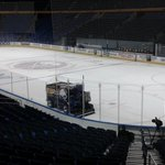 Getting the ice ready for Otters game tonight in Buffalo !! Ill have live reports at 6 on @SEENewsHD and @WICU12 http://t.co/swds5T1SxB