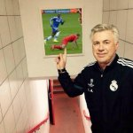 RT @FootyLaughs: Carlo Ancelotti next to the famous Anfield image... http://t.co/3CpqGT3cuA