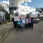 #ÚLTIMAHORA Manifestantes marchan por bulevar López Mateos exigiendo la presentacion de los normalistas desaparecidos http://t.co/EOgelaq4hY