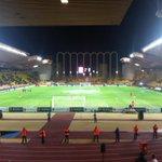 RT @Benficastuff: O Stade Louis II, onde o Benfica irá defrontar o Monaco. [via @MorganeSK] #slblive http://t.co/YZAmVWI60j