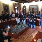RT @Contrapuntonews: Ya es oficial, toma protesta Luis Fernando Gómez Velázquez como nuevo secretario de Ayuntamiento http://t.co/iTRJB3qNi8