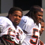 Burfict and Lamur suited up at practice today at PBS @wcpo #WhoDey #Bengals http://t.co/Uy1vkN0mW7