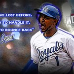 """RT:""""@MLB: @mrzoombiya let's KC know one loss isn't going to break these @Royals http://t.co/m5o1nE0m83 #WorldSeries http://t.co/MnX7McX5iz"""""""