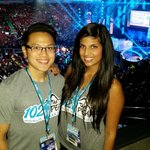 RT @KevinLimOnAir: Here at @WeDay at @RogersArena with @Sonia_Sidhu! An inspiring day for positive change. #WeDay http://t.co/f8JlFwBBIW