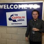 RT @CapitalFMArena: Ahh @Callum_SR stopped for a quick pic before he hits the stage! Enjoy your home coming gig Mr Raymond! http://t.co/xKoobdu1NO