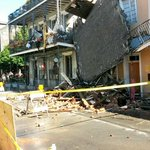 RT @CunninghamWDSU: Photos coming into @wdsu newsroom of collapsed building n #FrenchQuarter more fell this afternoon @nolagina6 http://t.co/4rVivB7C0x