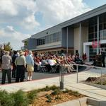 RT @NWCNorman: Great crowd on hand for the opening of the new Radar Innovations Laboratory! http://t.co/SuPX4QC12y