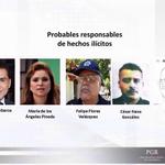 José Luis Abarca, Ma. de los Ángeles Pineda Villa y el titular de la SSP en Iguala, probables responsables: Murillo http://t.co/P0CzDB3naq