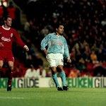 RT @photocelta: Temporada 1998/1999 | Copa de la UEFA | 3ª Ronda | Anfield | Liverpool-Celta | Jamie Carragher y Juan Sánchez. http://t.co/32GB0LTdfG