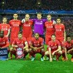 PHOTO: #LFC line up ahead of kick off at Anfield http://t.co/Jp9kopBkl7