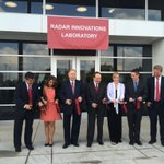 RT @OUPublicAffairs: President Boren cuts the ribbon at the Radar Innovations Lab, a 35,00 square ft. facility on OUs Research Campus. http://t.co/ioke4cmDMn