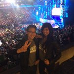 At @WeDay with @kevinlimonair. 20,000 students from over 700 schools, the energy is unreal. #WeDay http://t.co/E7T9lTgHRJ