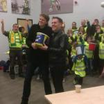 RT @breakwriter: Conrats to @bunnsandcakes organising amazing team of bucket collectors @NorwichCityFC match last night #norfolkhour http://t.co/7Sjb7kHxAg