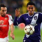 ¡MEDIO TIEMPO! El Anderlect, con el hondureño Andy Najar de titular, empata 0-0 ante Arsenal ▶ http://t.co/rb1svoNgTn http://t.co/kFsUPCRmia
