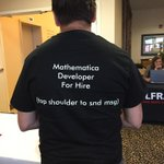 RT @DanielleRommel: The things you may see at the #WolframTechConf :) http://t.co/vhpE1uIRvX