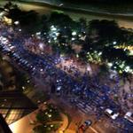 RT @margarethmaia: Hoje à noite a onda azul passando por Fortaleza! @AecioNeves #Aecio45PeloBrasil #MudaBrasil!???????????? http://t.co/bhidBhRe1p