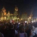 RT @El_Universal_Mx: Marcha por desaparecidos de #Ayotzinapa llega al Zócalo http://t.co/GXFn7N4f7S