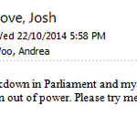 Thats an out-of-office reply you dont see often. @josh_wingrove http://t.co/FxdfqG1Gtc