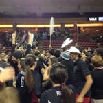 And Porter-Gaud closed out TD 5th straight state title in volleyball with a 3rd set win over First Baptist 25-18 http://t.co/WcQBTCLSw6