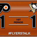 #Flyers get a deflection off a slapper from Mark Streit and its tied! http://t.co/q6RPwsgvFJ