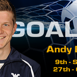 RT @WVUMensSoccer: 69'   GOALLL!!!!!! Andy Bevin with his 9th of the year on a penalty kick!   WVU, 2-1 http://t.co/EfIpcDTzdT