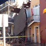 Demolition begins 7 a.m. Thursday on a French Quarter building whose facade earlier collapsed: http://t.co/itvdSmnQjH http://t.co/YPHBD7CTNz