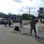 RT @GobCdOax: Continúa @GobCdOax acciones de bacheo en calles de la capital. #Oaxaca http://t.co/ROnGDNafT7 http://t.co/cIr3nJFiDq
