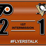 RT @CSNPhilly: One period is in the books. The #Flyers took care of business in the first: http://t.co/zk5RSXjLlx