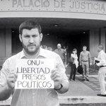 RT @dsmolansky: Exigimos a los jueces, desde el mismo Palacio de Justicia, acaten la resolución #ONULibertadPresosPoliticos http://t.co/rIBTG1AsDK
