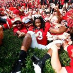 Is Gurley the most loved #UGA athlete of this generation? Its those undefined intangibles. http://t.co/Q6jjwHCCFW