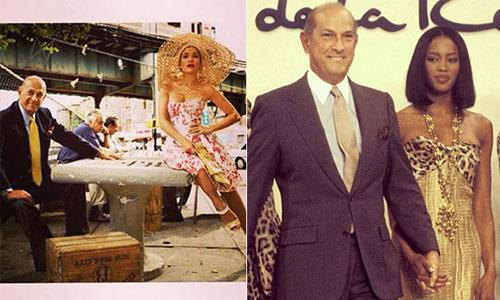 Tributes paid to Oscar de la Renta, wedding dress designer to the stars...