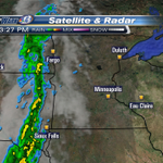 Rain in the Dakotas on the way for late tonight. Going to be a wet morning commute tomorrow. #SkyWarn13 http://t.co/6QI50XC4XL