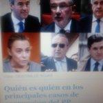 Top6 corruptos PP via El Mundo Dos exministros de Aznar, un vicepresidente de Aznar, el jefe de la Policía d Aznar... http://t.co/GbHExt4jVD