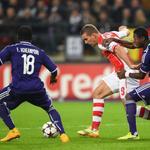 #LDC Arsenal réalise le hold-up à Anderlecht (1-2) http://t.co/GBTzLFXOvL #football #AndArs http://t.co/PYV7RnC7E2