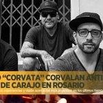 #Corvata anticipa el show de #CARAJO en #Rosario. http://t.co/PoZhwqfxg3 _ @Carajoweb cambió de lugar y horario. RT http://t.co/jScCEM8aY7