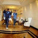El bombillo @Emelec retorna a Guayaquil 17:30, Mañana entrena. Próximo juego Deportivo Quito11:30. http://t.co/atBeLLpdlg