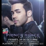 RT @BLU_Nicaragua: ¡Este viernes Prince Royce vuelve a Nicaragua! ¿Están listos para mostrarle la calidez y alegría que nos caracteriza? http://t.co/pi8FiibtiX
