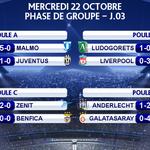 RT @Footballogue: [#LDCLiveCamp] Les résultats de la soirée ! via @ActuFoot_ http://t.co/s8ePm74RGw