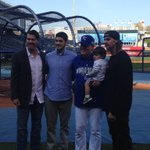 Ned and his family #royals @610SportsKC http://t.co/JyntSKE9Yr