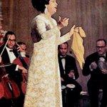 Um Kulthom during a concert.. #Egypt أم كلثوم خلال حفلة.. #مصر http://t.co/nZhRDRpMLT