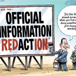 RT @bryce_edwards: The OIA gets updated to Official Information Redaction, according to Moreu cartoon in Timaru Herald: http://t.co/OTDZYqfKac