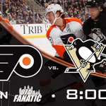 RT @NHLFlyers: Only an hour to go until #RivalryNight in Pittsburgh! Tune In: @NHLonNBCSports & @975TheFanatic http://t.co/5LECKmzQux