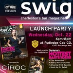 TONIGHT! Join us for the Swig Launch Party at @RutledgeCabCo 6-8 PM! DJ Rehab, apps, drink specials, giveaways! #chs http://t.co/QeNYUvYn88