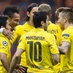 DORTMUND: En LDC: 9 pts sur 9 Buts marqués: 9 Encaissés: 0 En Bundesliga: 7 pts sur 24 Marqués: 10 Encaissés: 14 http://t.co/K81itkntNu